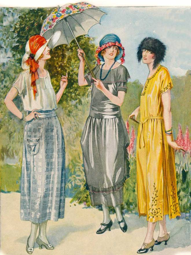 "From the July 1921 issue of ""The Designer and The Woman's Magazine"""