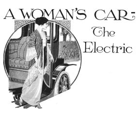 Commercial illustration for the Electric Vehicle Association of America published in